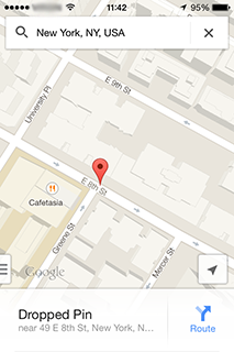 Find My Location • What is my current location? • Laude ... Drop Pin Google Map on